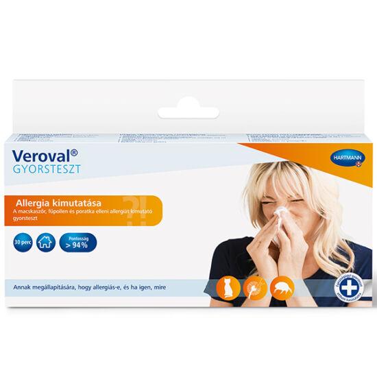 Veroval allergia gyorsteszt