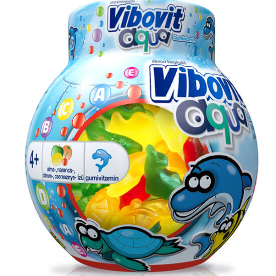 Vibovit Aqua gumivitamin 50x