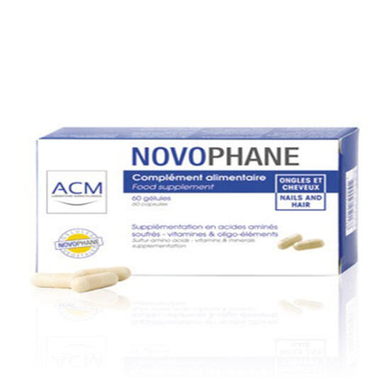 ACM Novophane haj és körömer?sít? kapszula 60x