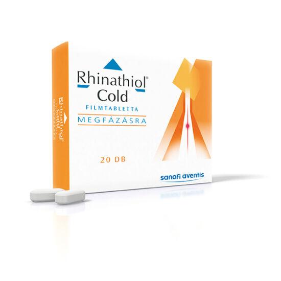 Rhinathiol Cold 200 mg/30 mg filmtabletta 20x