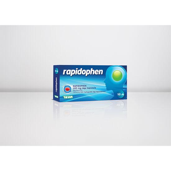 Rapidophen 200 mg lágy kapszula 10x