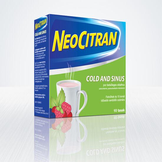 Neo Citran Cold and Sinus por bels?leges oldathoz