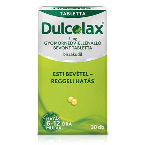 Dulcolax 5mg gyomornedv-ellenálló bevont tabletta 30x
