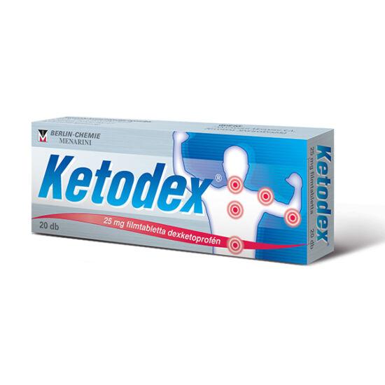 Ketodex 25 mg filmtabletta 10x