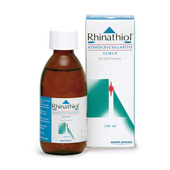 Rhinathiol 1,33 mg/ml köhögéscsill.szirup felnőtt.