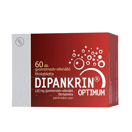 Dipankrin Optimum 120 mg gyomornedv-ellenálló tabl. 30x