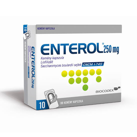 Enterol 250 mg kapszula 10x