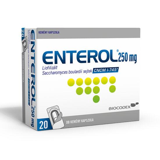 Enterol 250 mg kapszula 20x