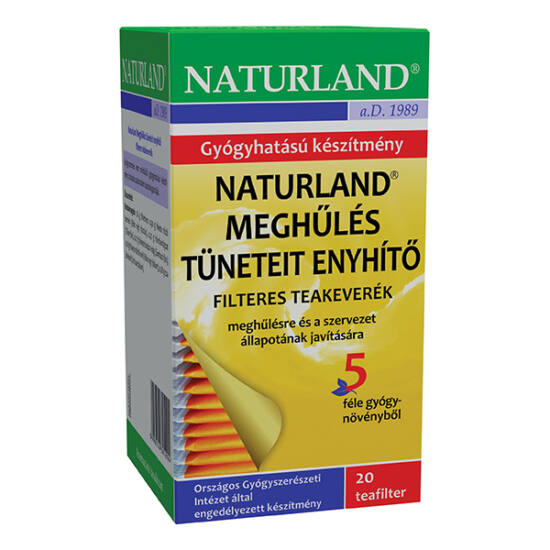 Naturland meghűlés elleni filteres teakeverék 20x