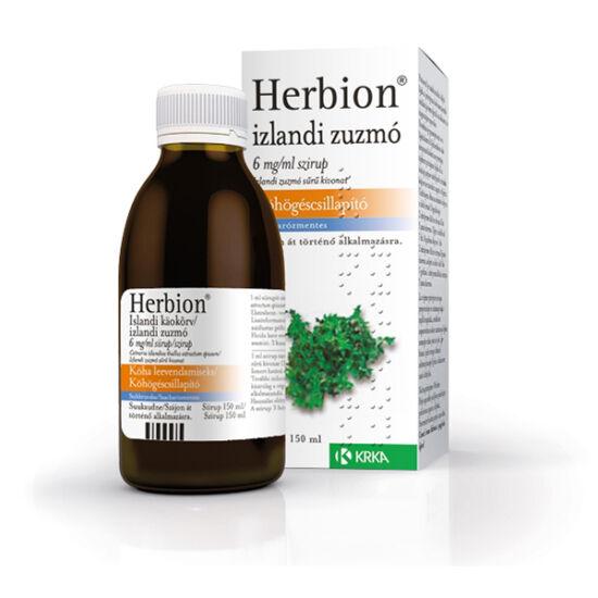 Herbion izlandi zuzmó 150ml