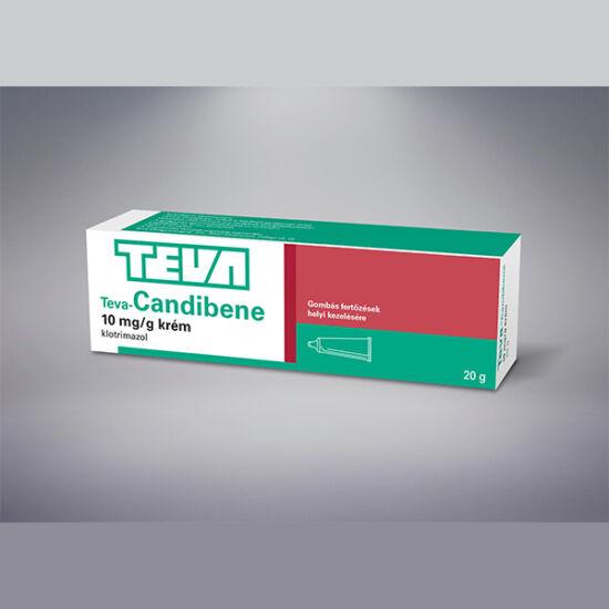 CANDIBENE-TEVA 10 mg/g krém