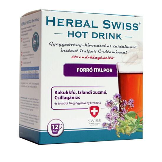 Herbal Swiss Hot Drink gyógynövény kivonattal 12x