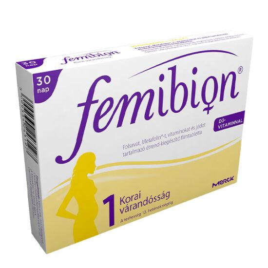 Femibion 1 +D3 filmtabletta 30x