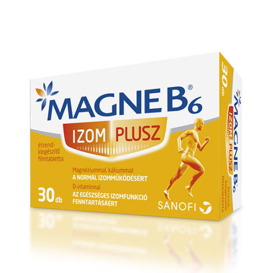 Magne B6 Izom Plusz filmtabletta 30x