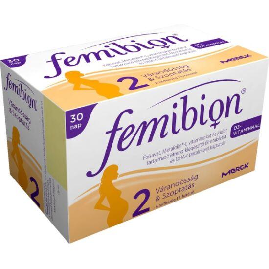 Femibion 2 +D+Met+DHA ftbl. kapszula 30x+30x