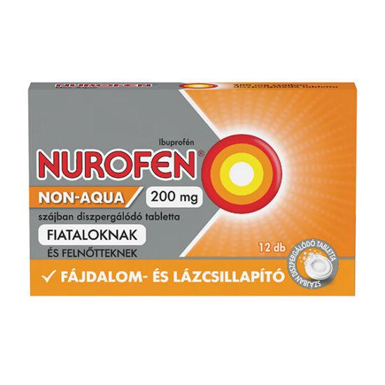 Nurofen Non-Aqua 200 mg szájban diszpergálódó tabletta 12x