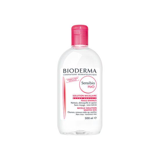 Bioderma Sensibio H2O arc- és sminklemosó érzékeny bőrre 500ml