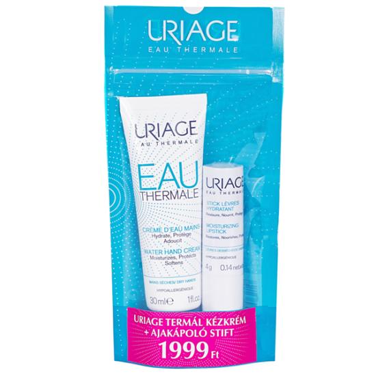 Uriage Termál kézkrém+ajakápoló (30ml+4g)