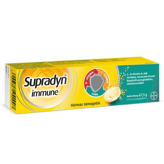 Supradyn Immune pezsgőtabletta
