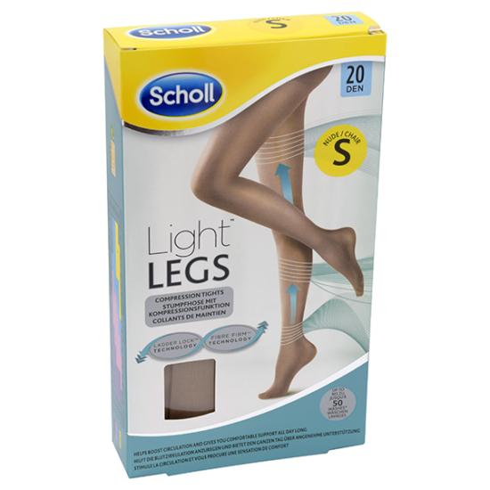 Scholl Light Legs harisnya 20DEN S testszínű