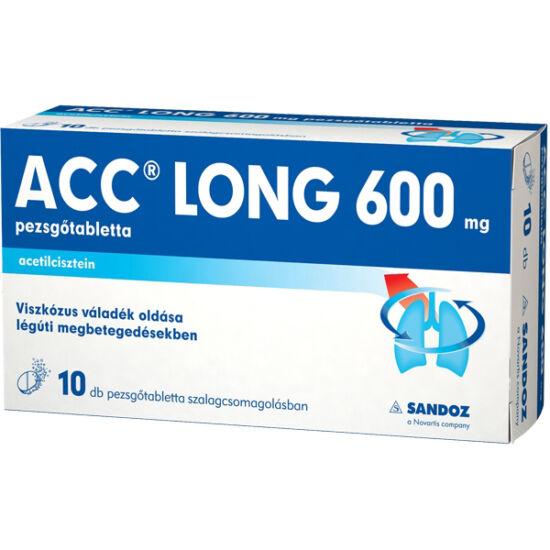 ACC long 600 mg pezsgőtabletta 10x