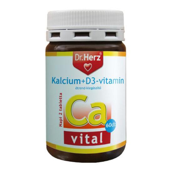 Dr.Herz Calcium D3 tabletta 60x