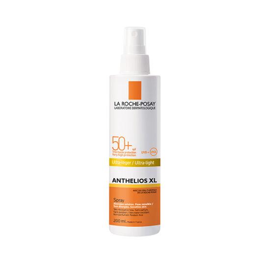 LRP Anthelios napozó spray FF 50+ illatmentes