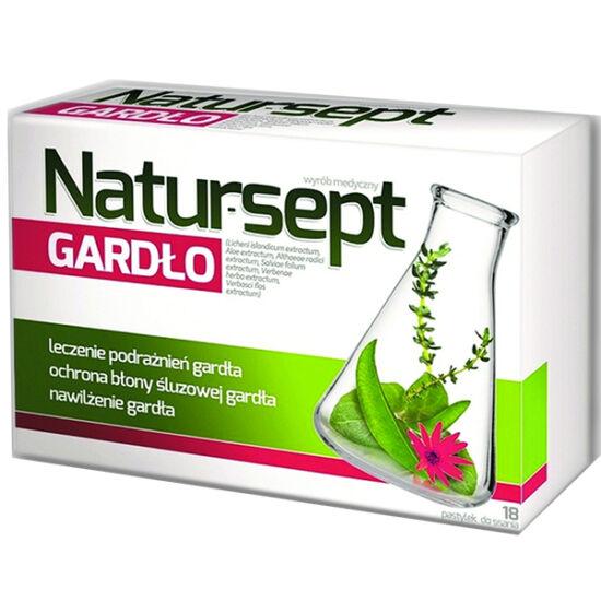 Natursept Gardlo szopogató tabletta torokra