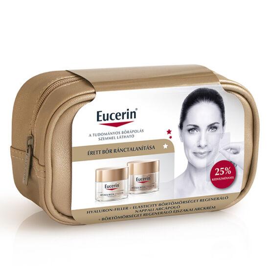Eucerin Hyaluron-Filler Elasticity arckrém nappali +éjszakai csomag (50ml+50ml)