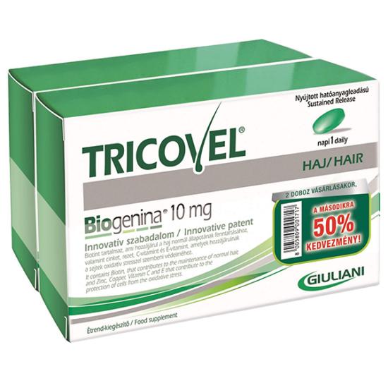 Tricovel Biogenina 10 mg tabletta 30x