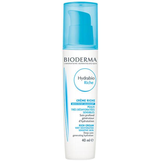Bioderma Hydrabio Rich Tápláló hidratáló krém száraz, érzékeny bőrre 40ml
