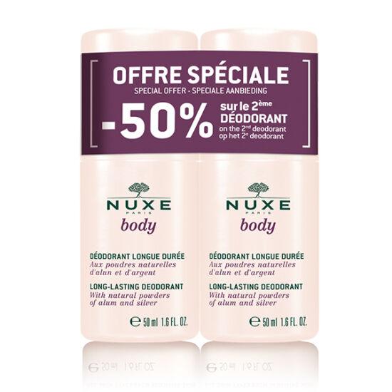 Nuxe Body deo golyós tartós hatású DUO 2x50ml
