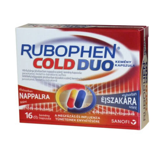 Rubophen Cold Duo kemény kapszula 2x(6+2)