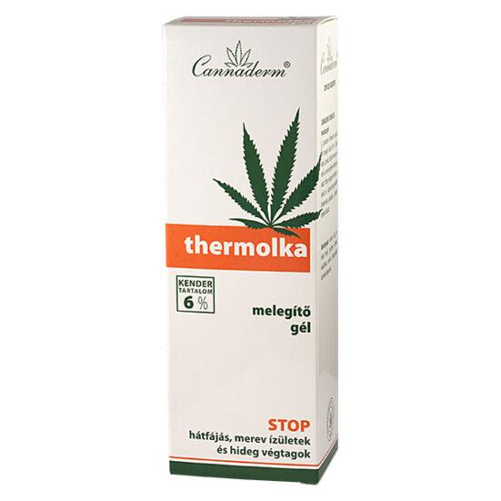 Cannaderm Thermolka melegítő gél