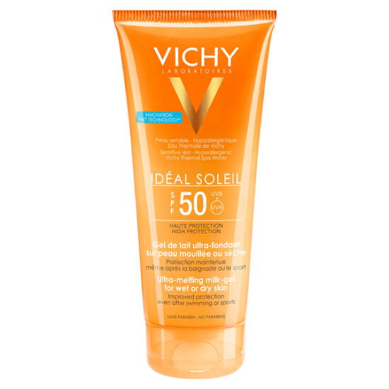 Vichy Idéal Soleil napvédő gél testre SPF50 (200ml)