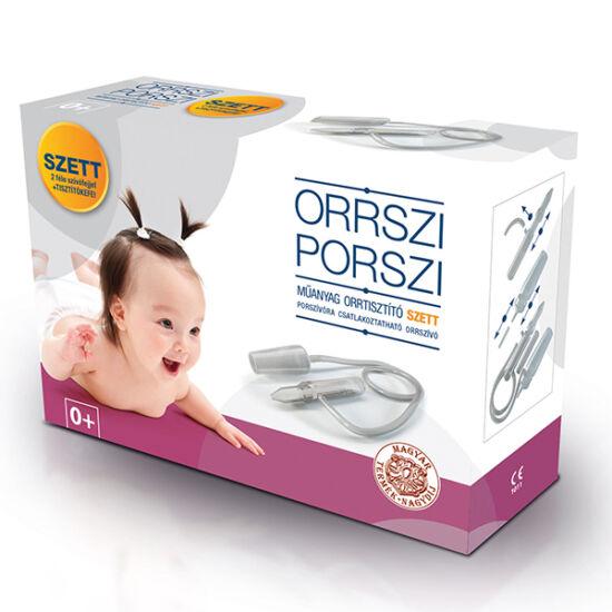 Orrszi Porszi orrtisztító szett műanyag