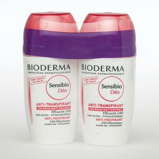 BIODERMA Sensibio dezodor izzadásgátló DUO 2x50ml