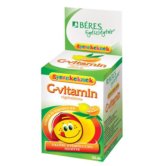 Béres Egészségtár C-vitamin rágótabletta gyerekeknek
