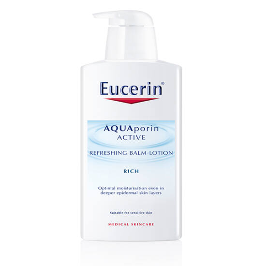 Eucerin AQUAporin ACTIVE Frissít? testápoló balzsam 400ml