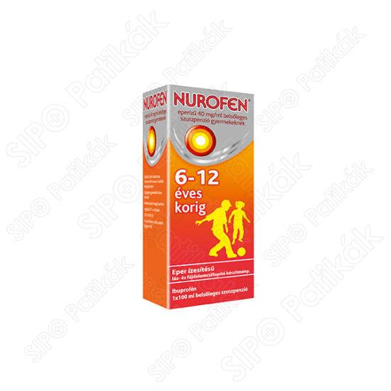 Nurofen eperíz? 40 mg/ml bels?leges szuszpenzió gyermekeknek 100ml