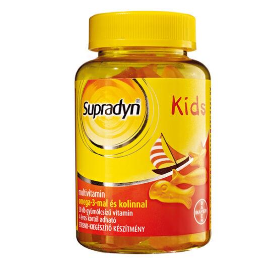Supradyn Kids omega-3 gumivitamin (30x)