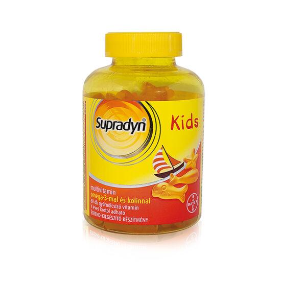Supradyn Kids omega-3 gumivitamin (60x)