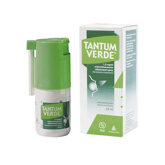 Tantum Verde 1,5 mg/ml szájnyálkahártyán alkalmazott spray