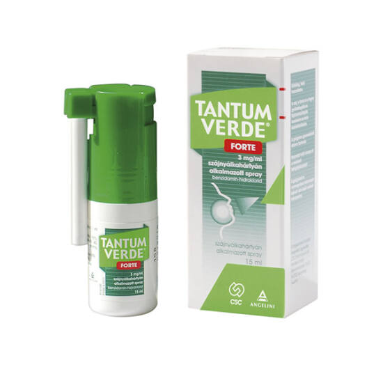 Tantum Verde Forte 3 mg/ml szájnyálkahártyán alkalmazott spray