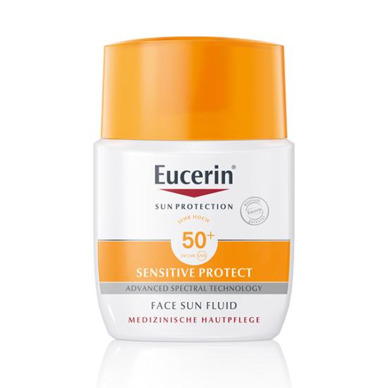 Eucerin Sun napozó fluid arcra FF30 mattító 50ml