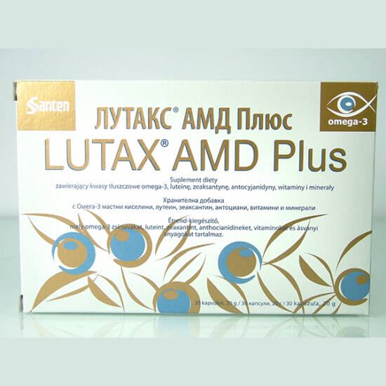 Lutax AMD Plus kapszula 30x