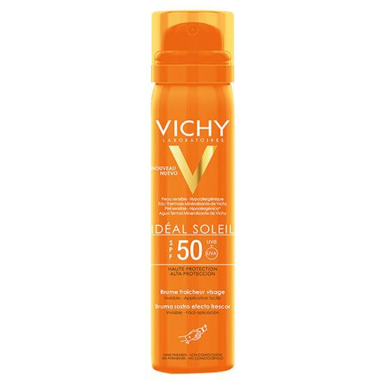 Vichy Idéal Soleil frissít? hatású napvéd? spray arcra