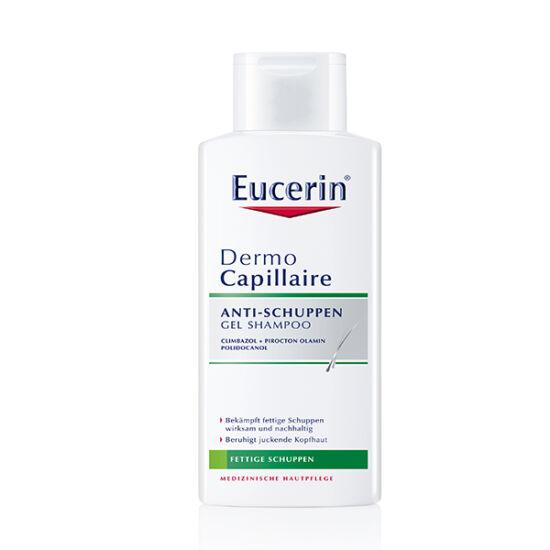 Eucerin DermoCapillaire Korpásodás elleni sampon zsíros korpára 250ml
