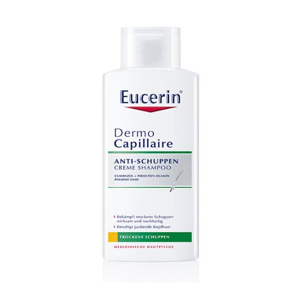 Eucerin® DermoCapillaire Korpásodás elleni sampon száraz korpára 250ml
