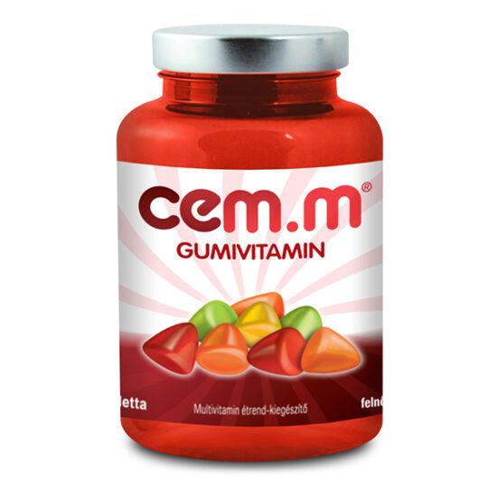 Walmark CEM-M Gummi multivitamin tabletta feln?tteknek 60x
